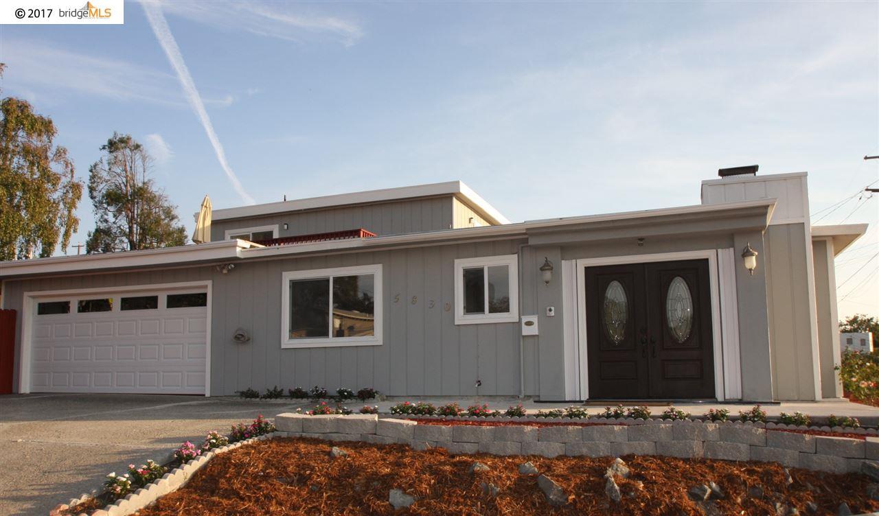 一戸建て のために 売買 アット 5830 Hazel Avenue 5830 Hazel Avenue Richmond, カリフォルニア 94805 アメリカ合衆国