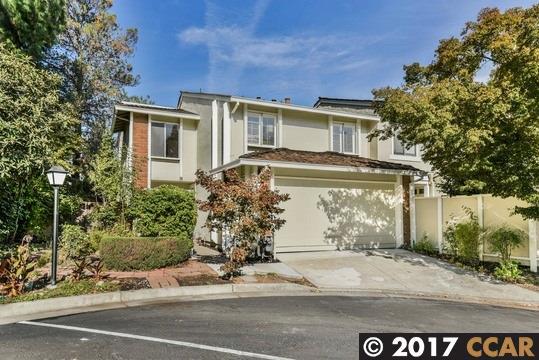 Таунхаус для того Продажа на 1707 Siskiyou Drive 1707 Siskiyou Drive Walnut Creek, Калифорния 94598 Соединенные Штаты