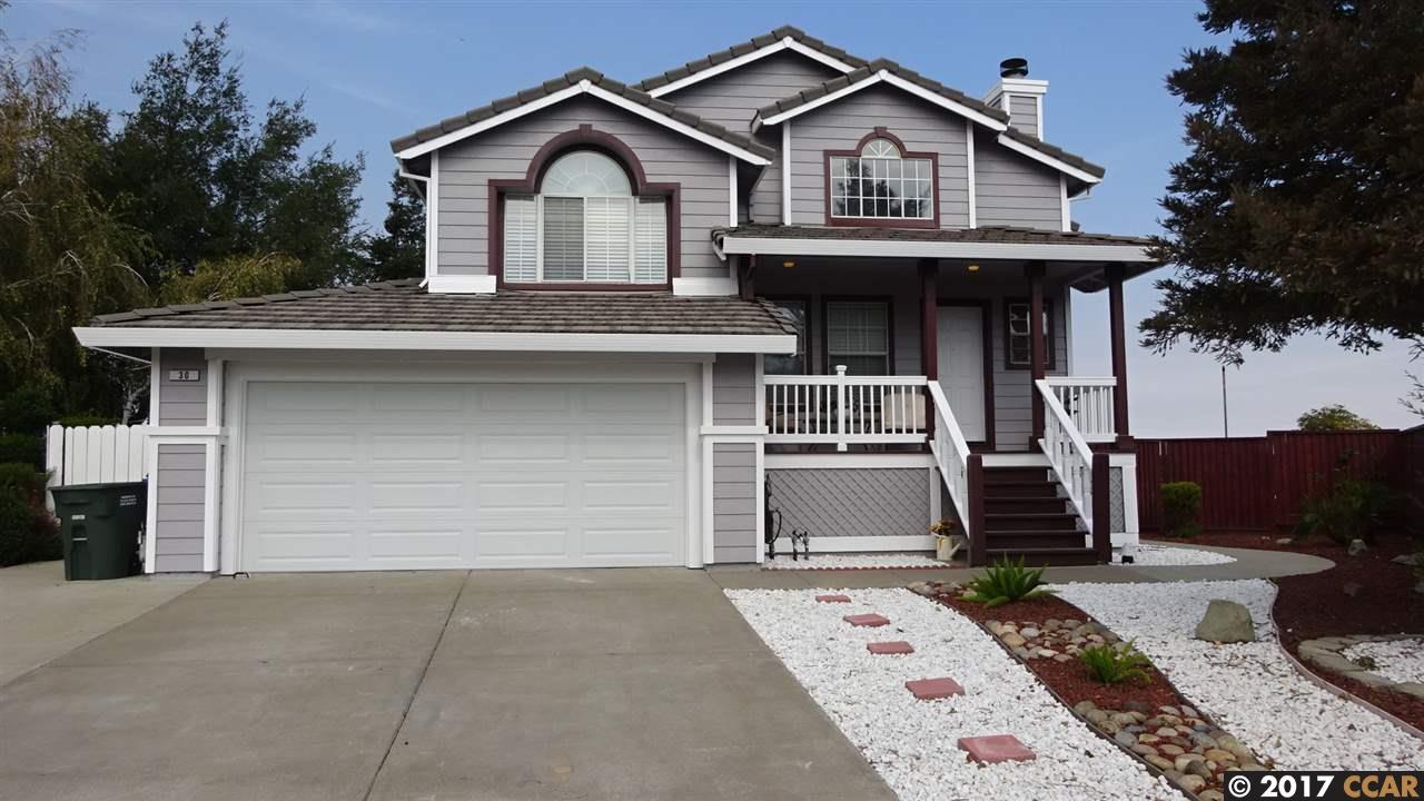 واحد منزل الأسرة للـ Sale في 30 KELSEY Court 30 KELSEY Court Bay Point, California 94565 United States