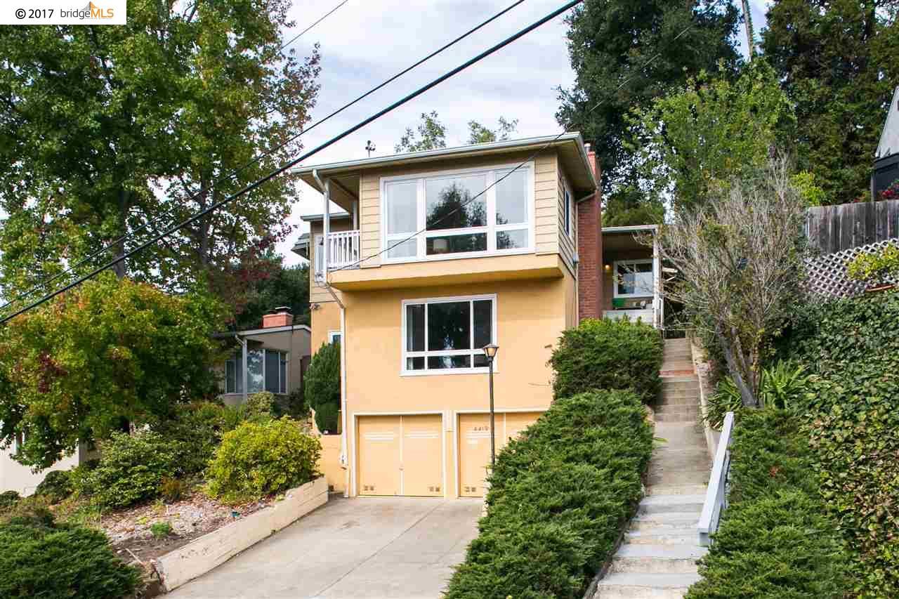 Casa Unifamiliar por un Venta en 4419 Norton Avenue 4419 Norton Avenue Oakland, California 94602 Estados Unidos