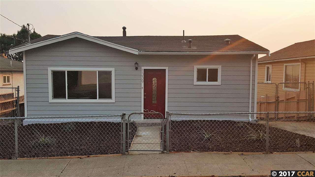 一戸建て のために 売買 アット 1339 Merced Street 1339 Merced Street Richmond, カリフォルニア 94804 アメリカ合衆国