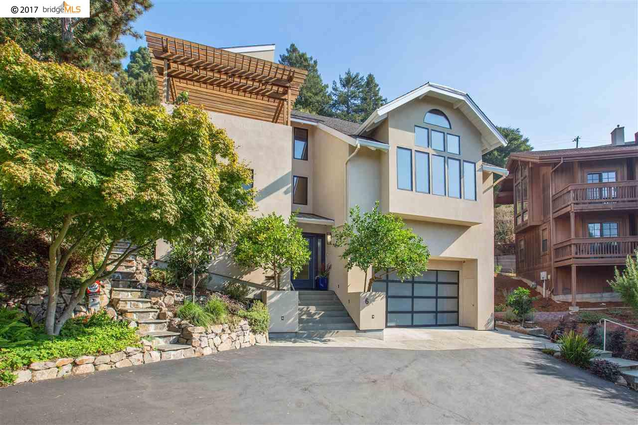 Single Family Home for Sale at 6 Abbott Way 6 Abbott Way Piedmont, California 94618 United States