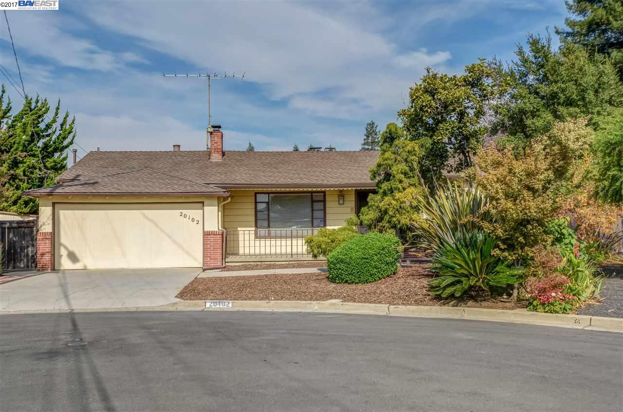 Single Family Home for Sale at 20102 Woodbine Avenue 20102 Woodbine Avenue Castro Valley, California 94546 United States