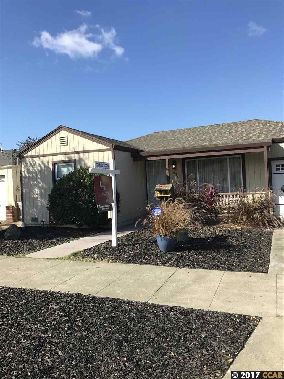 一戸建て のために 売買 アット 959 Lassen Street 959 Lassen Street Richmond, カリフォルニア 94805 アメリカ合衆国