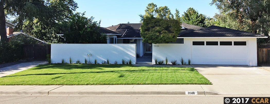 واحد منزل الأسرة للـ Rent في 3506 Perada Drive 3506 Perada Drive Walnut Creek, California 94598 United States