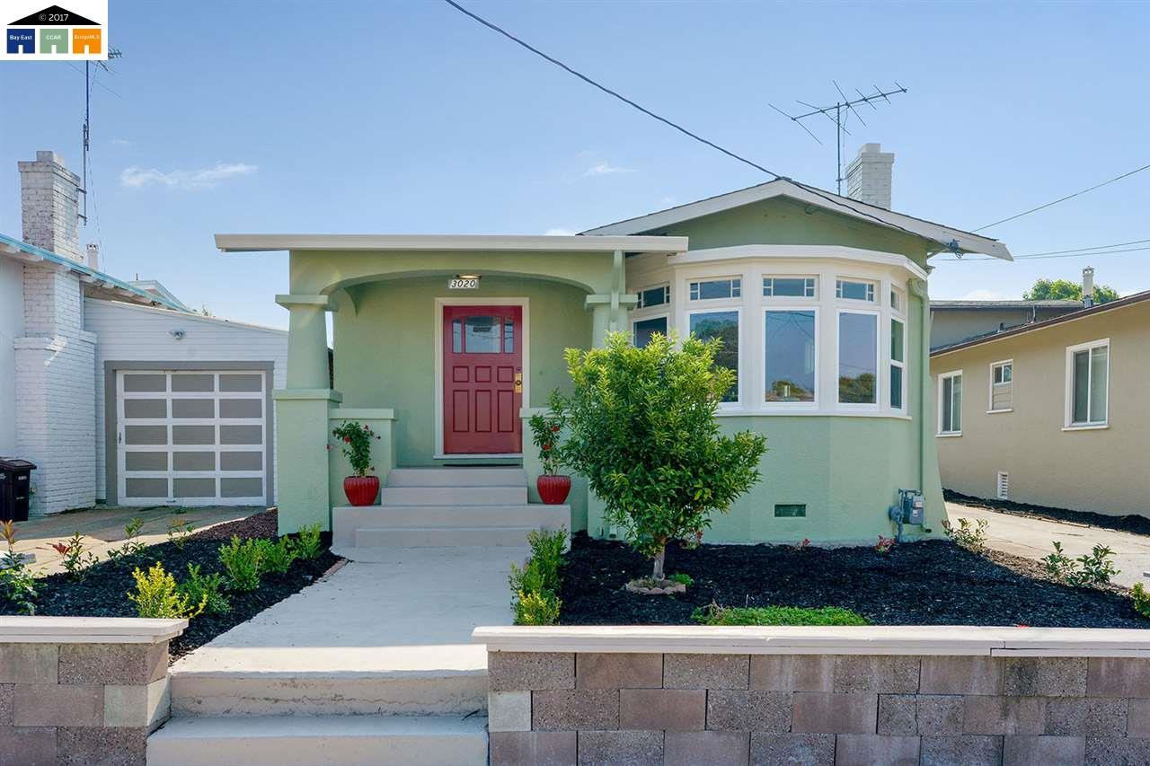 Einfamilienhaus für Verkauf beim 3020 Bartlett Street 3020 Bartlett Street Oakland, Kalifornien 94602 Vereinigte Staaten