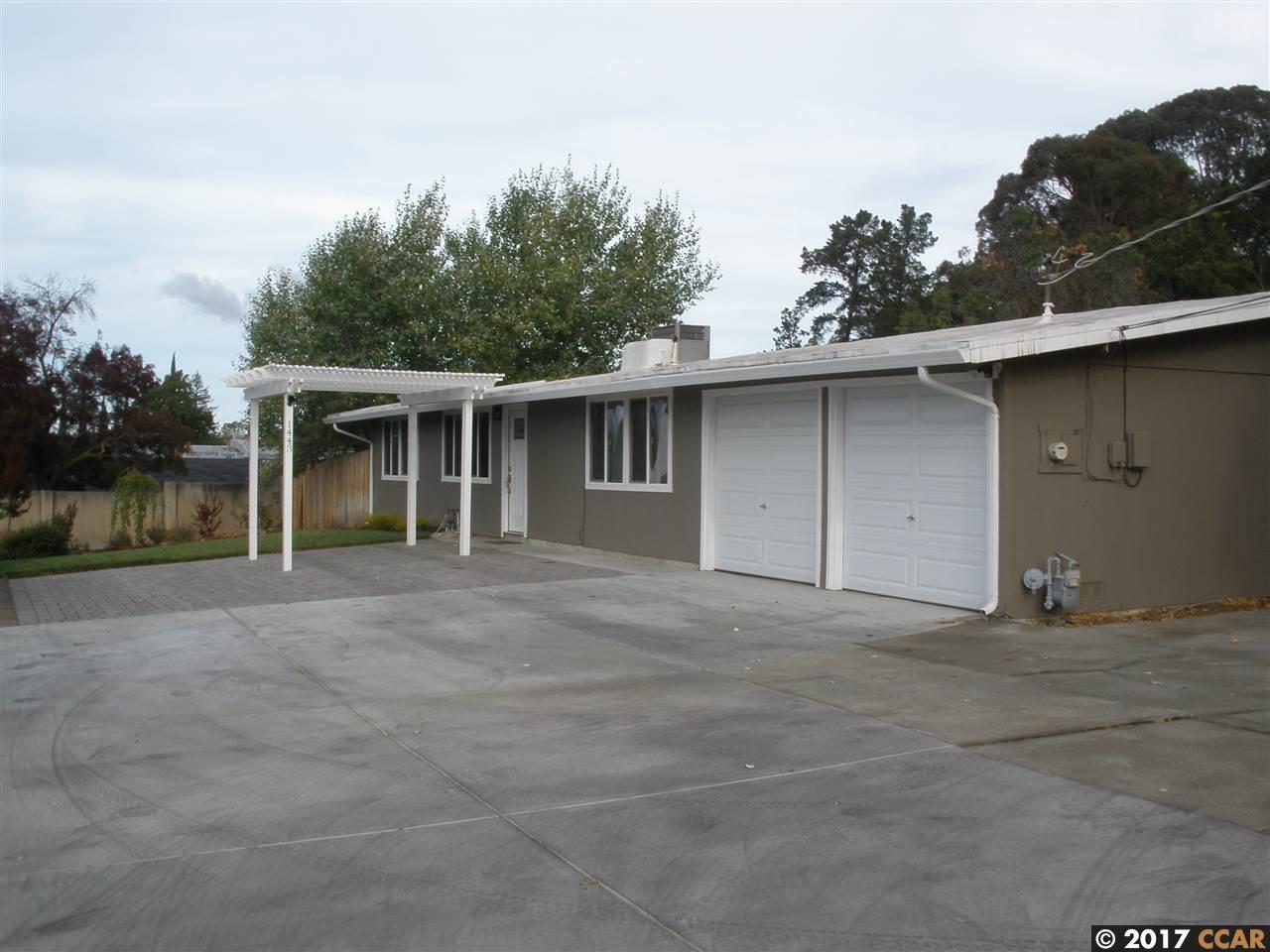 一戸建て のために 賃貸 アット 1443 La Vista Avenue 1443 La Vista Avenue Concord, カリフォルニア 94521 アメリカ合衆国