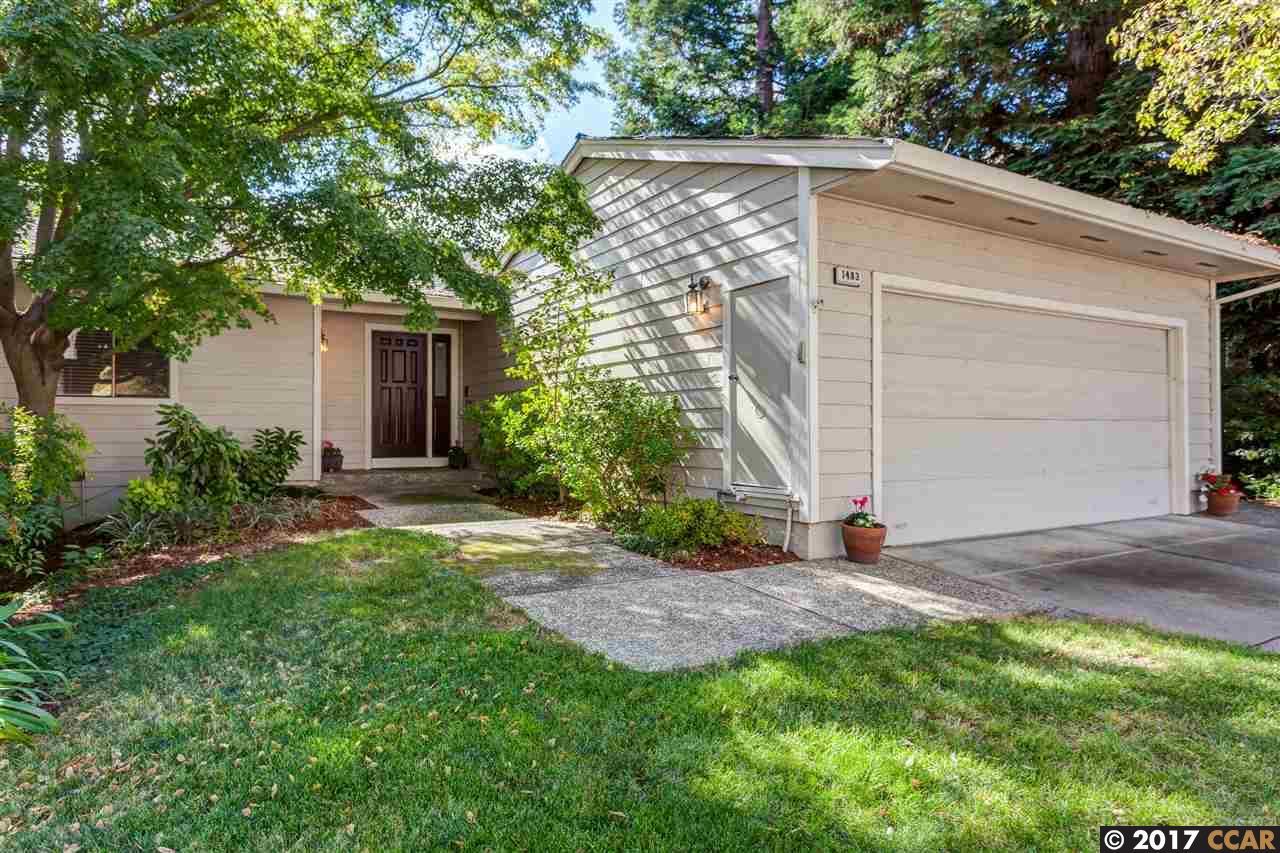 Таунхаус для того Продажа на 1483 Quail View Circle 1483 Quail View Circle Walnut Creek, Калифорния 94597 Соединенные Штаты