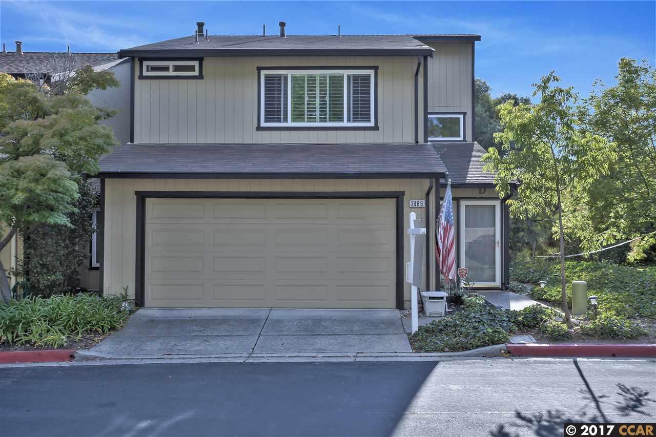 Maison accolée pour l Vente à 2469 Heatherleaf Lane 2469 Heatherleaf Lane Martinez, Californie 94553 États-Unis