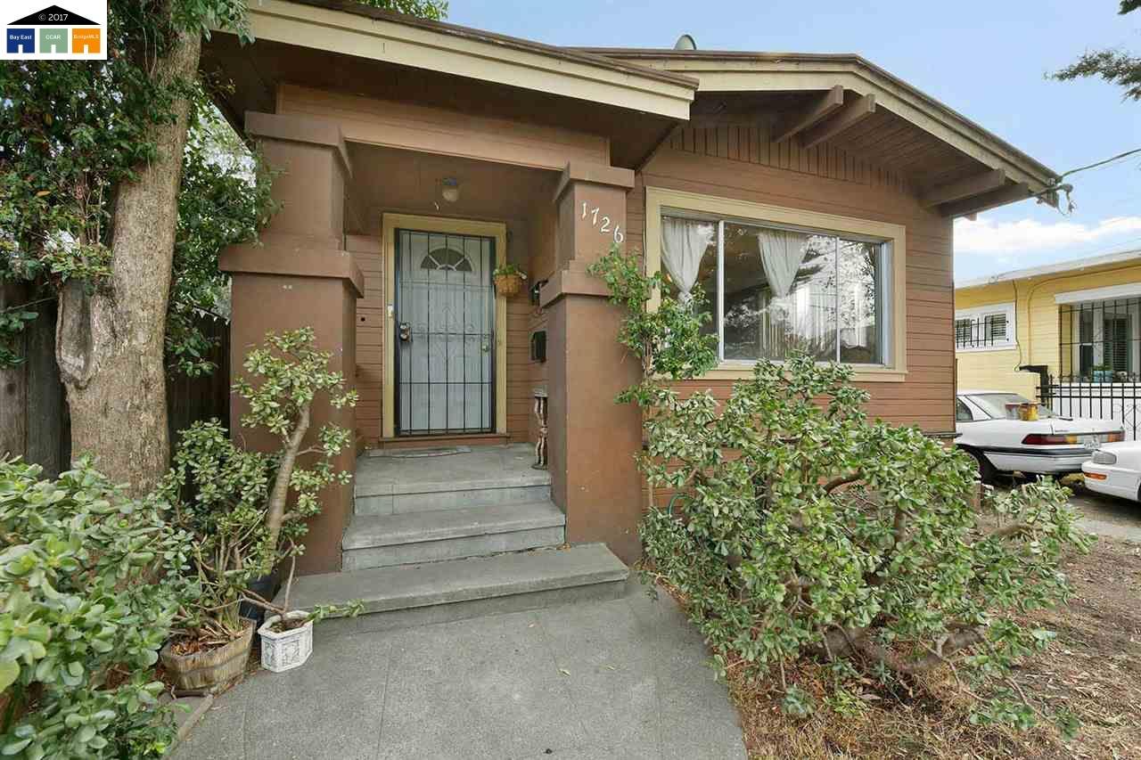 Casa Unifamiliar por un Venta en 1726 Roosevelt Avenue 1726 Roosevelt Avenue Richmond, California 94801 Estados Unidos