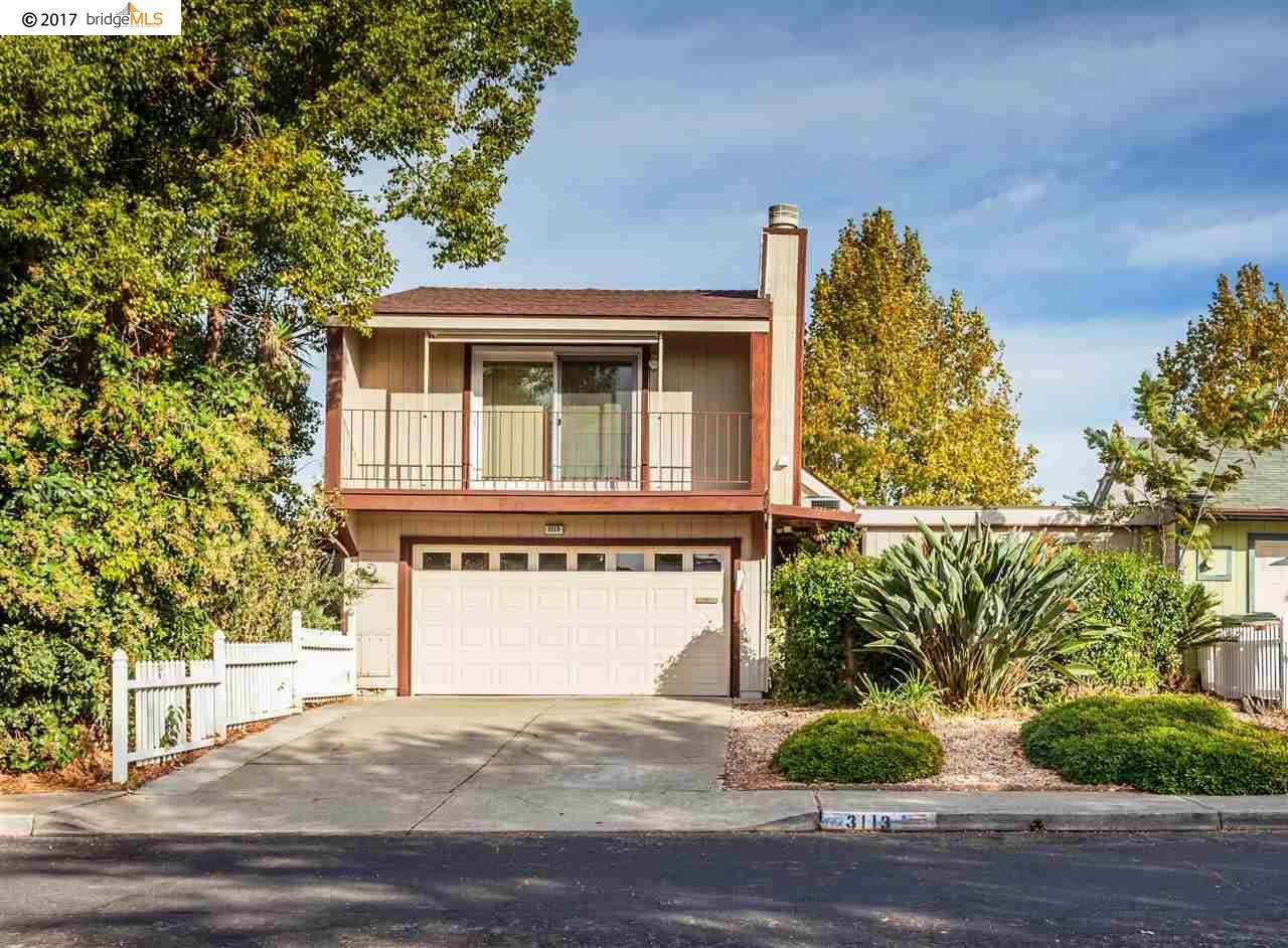 تاون هاوس للـ Sale في 3113 Pine Street 3113 Pine Street Antioch, California 94509 United States
