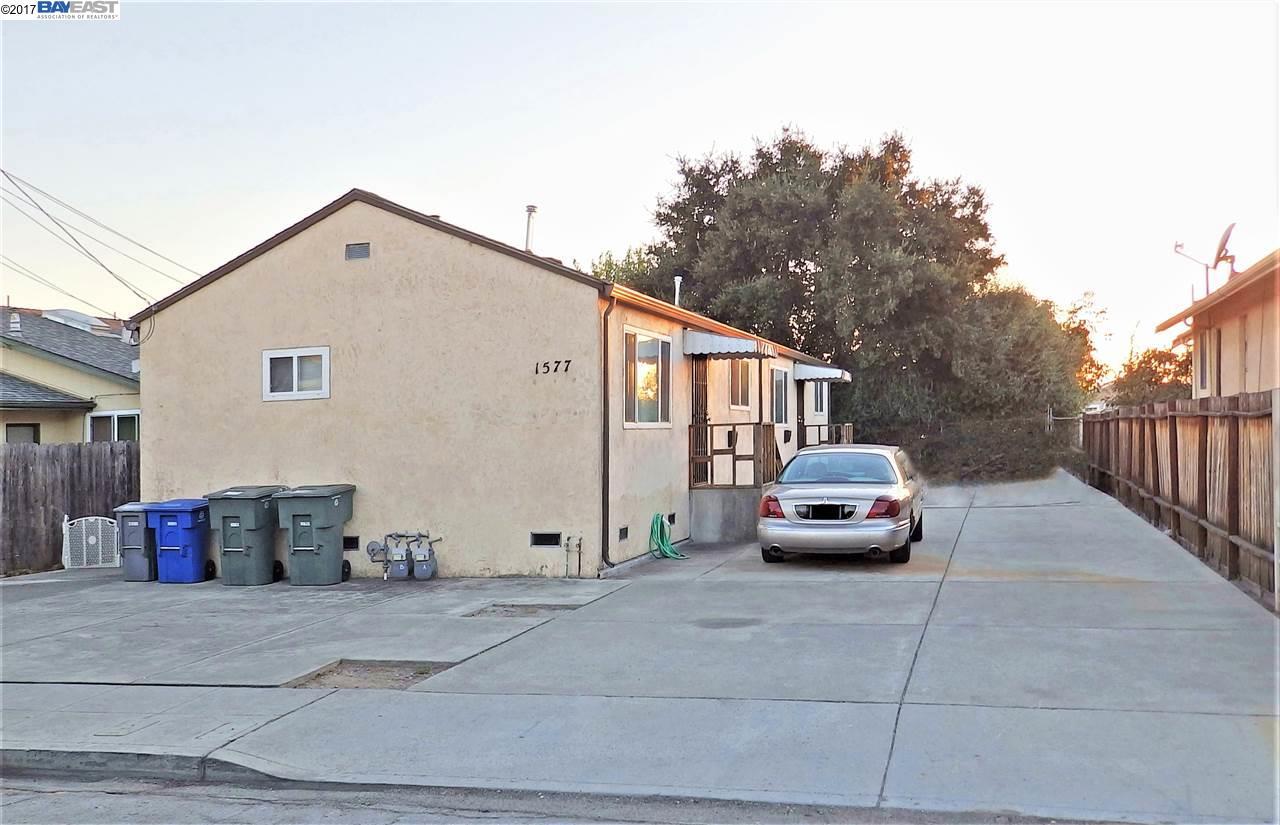 二世帯住宅 のために 売買 アット 1577 Orchard Avenue 1577 Orchard Avenue San Leandro, カリフォルニア 94577 アメリカ合衆国