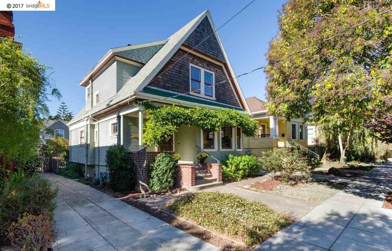 Casa Unifamiliar por un Venta en 5429 Shafter Avenue 5429 Shafter Avenue Oakland, California 94618 Estados Unidos