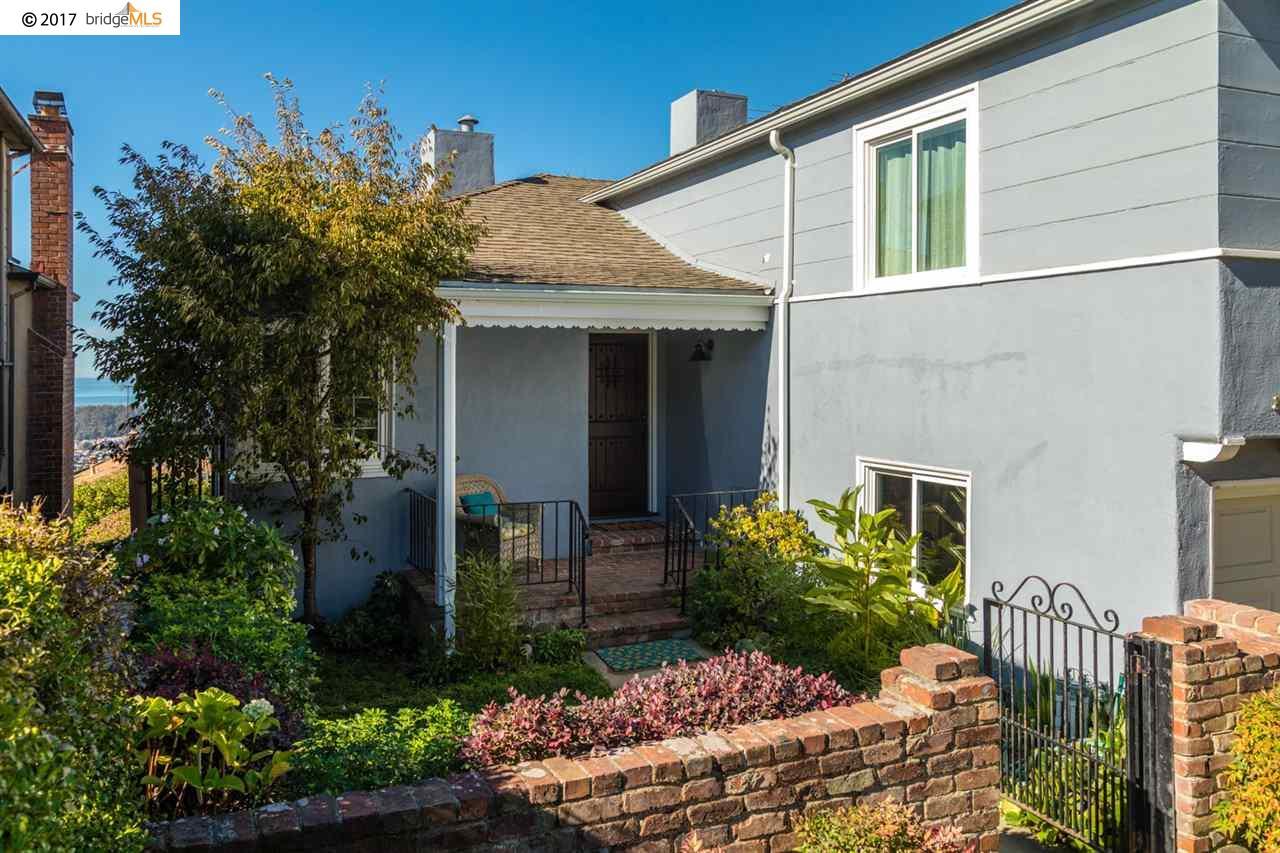 Частный односемейный дом для того Продажа на 240 Trinity Avenue 240 Trinity Avenue Kensington, Калифорния 94708 Соединенные Штаты