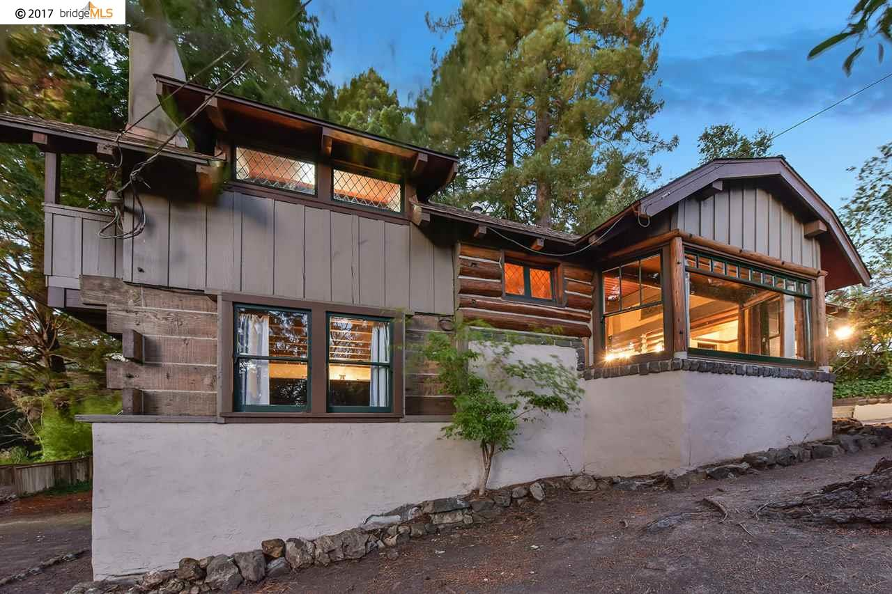 Single Family Home for Sale at 15 Sunset Drive 15 Sunset Drive Kensington, California 94707 United States