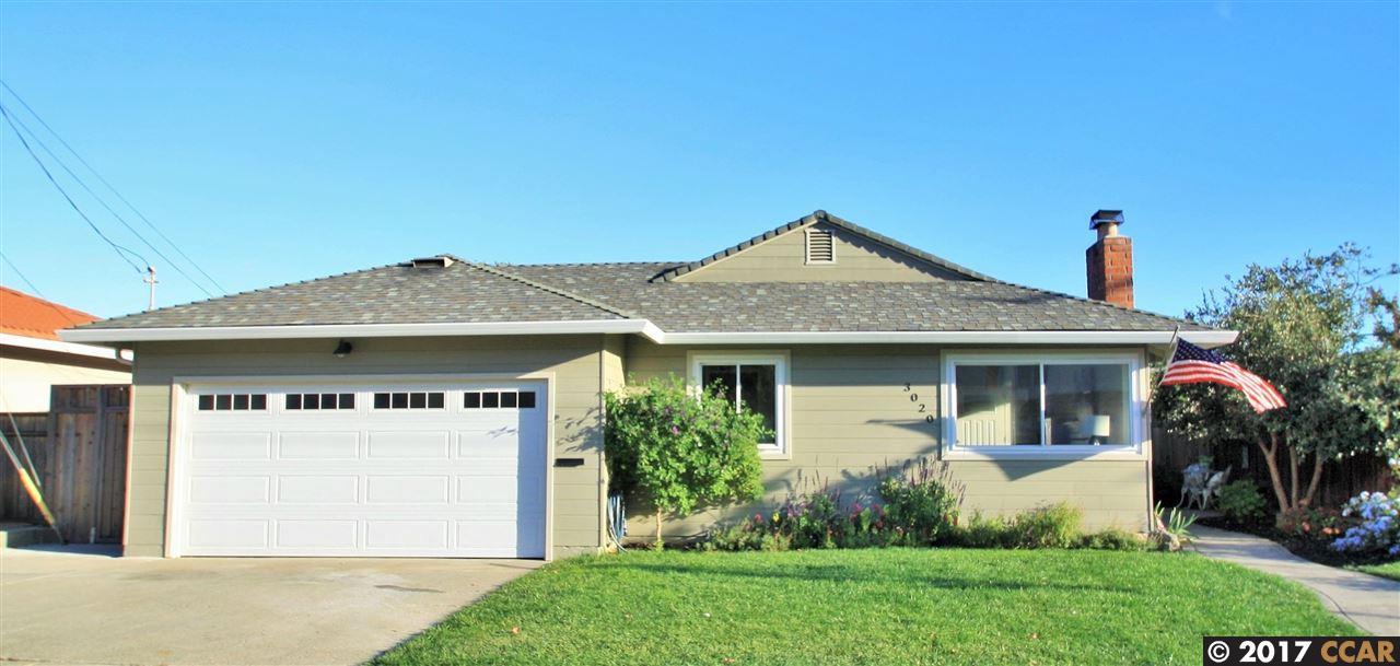 Casa Unifamiliar por un Venta en 3020 Sheldon Drive 3020 Sheldon Drive Richmond, California 94803 Estados Unidos