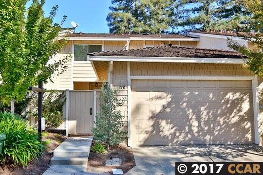 Таунхаус для того Продажа на 348 Kinross Drive 348 Kinross Drive Walnut Creek, Калифорния 94598 Соединенные Штаты