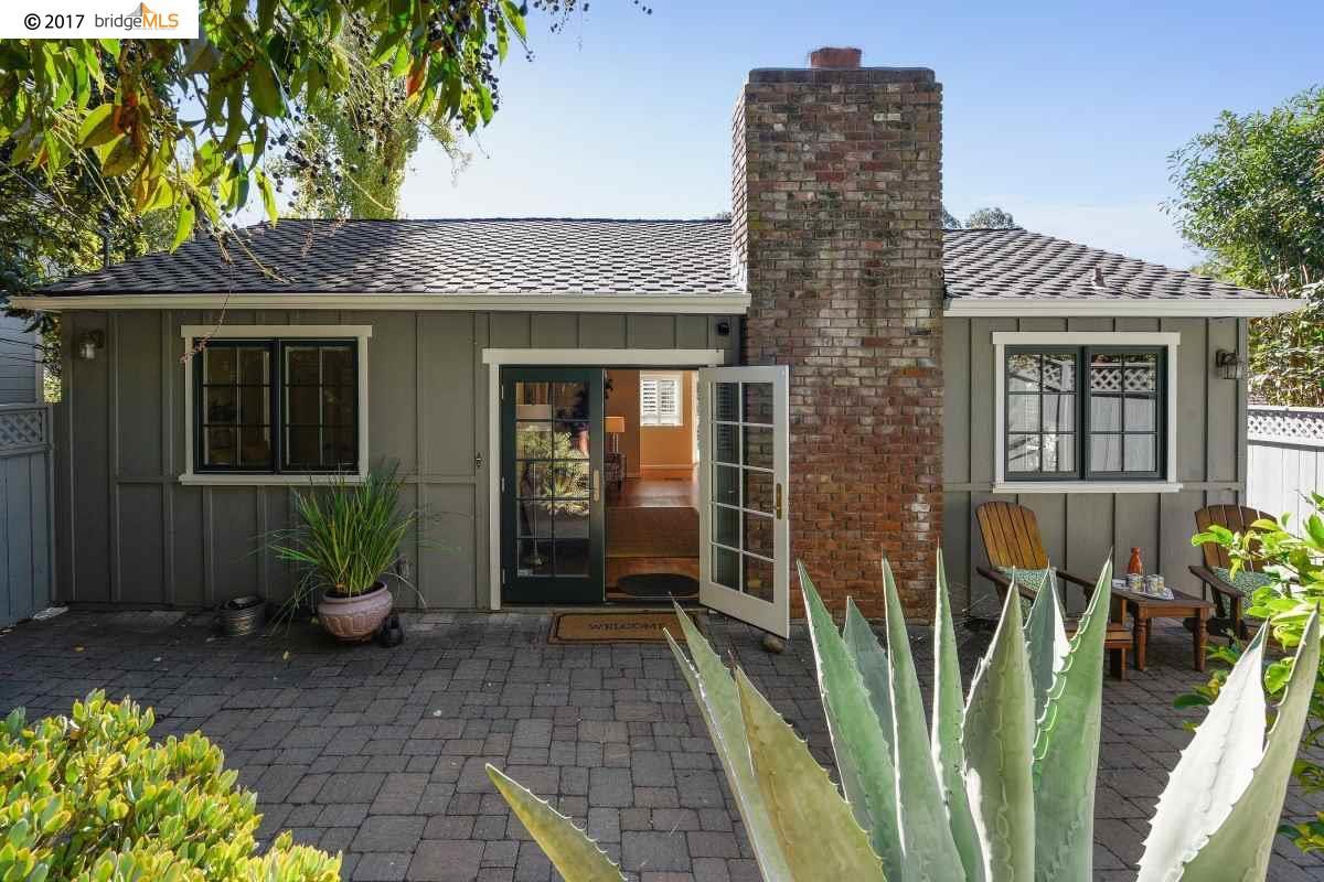 Maison unifamiliale pour l Vente à 5836 Florence Terrace 5836 Florence Terrace Oakland, Californie 94611 États-Unis