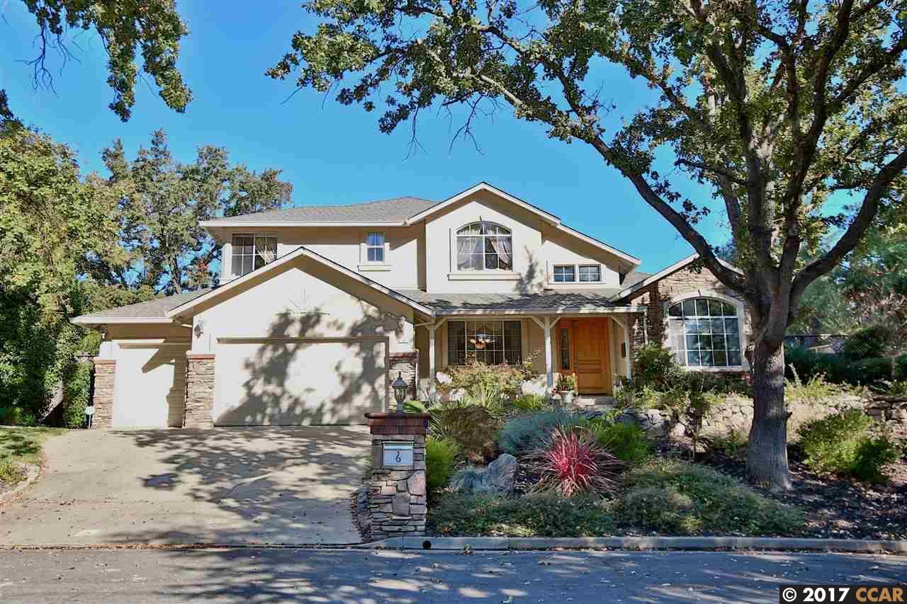 واحد منزل الأسرة للـ Sale في 6 Whitfield Court 6 Whitfield Court Pleasant Hill, California 94523 United States