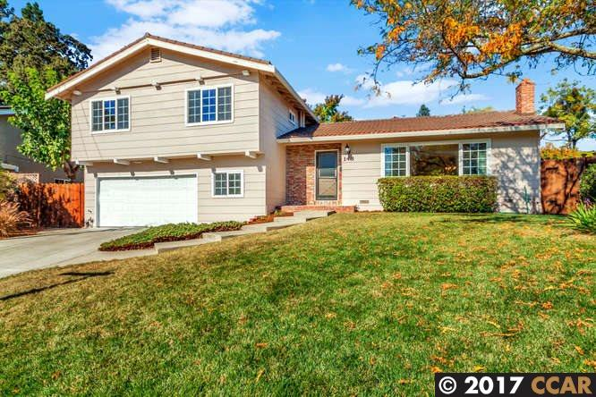 واحد منزل الأسرة للـ Sale في 148 Wiggins Court 148 Wiggins Court Pleasant Hill, California 94523 United States