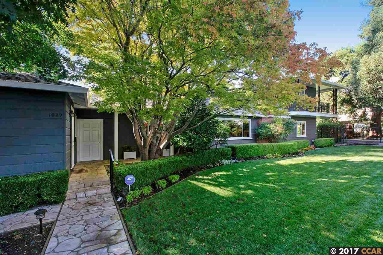 一戸建て のために 売買 アット 1029 Hampton Road 1029 Hampton Road Lafayette, カリフォルニア 94549 アメリカ合衆国