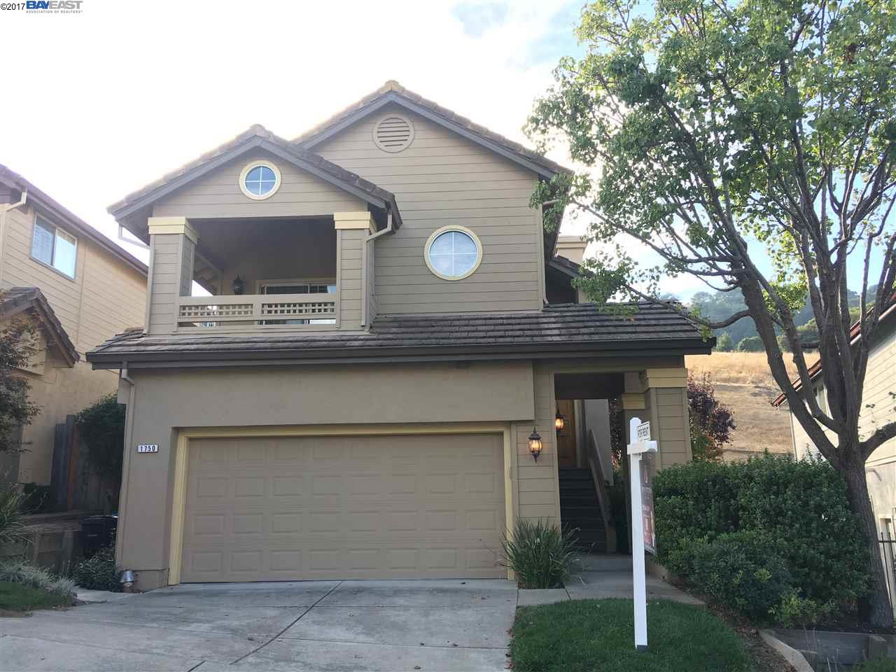 Single Family Home for Rent at 1750 Bird Hill Court 1750 Bird Hill Court Danville, California 94526 United States
