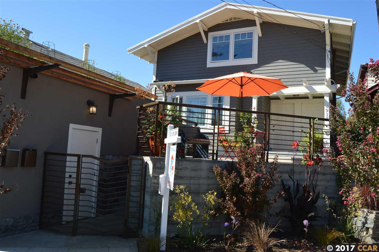 واحد منزل الأسرة للـ Sale في 4915 Manila Avenue 4915 Manila Avenue Oakland, California 94609 United States
