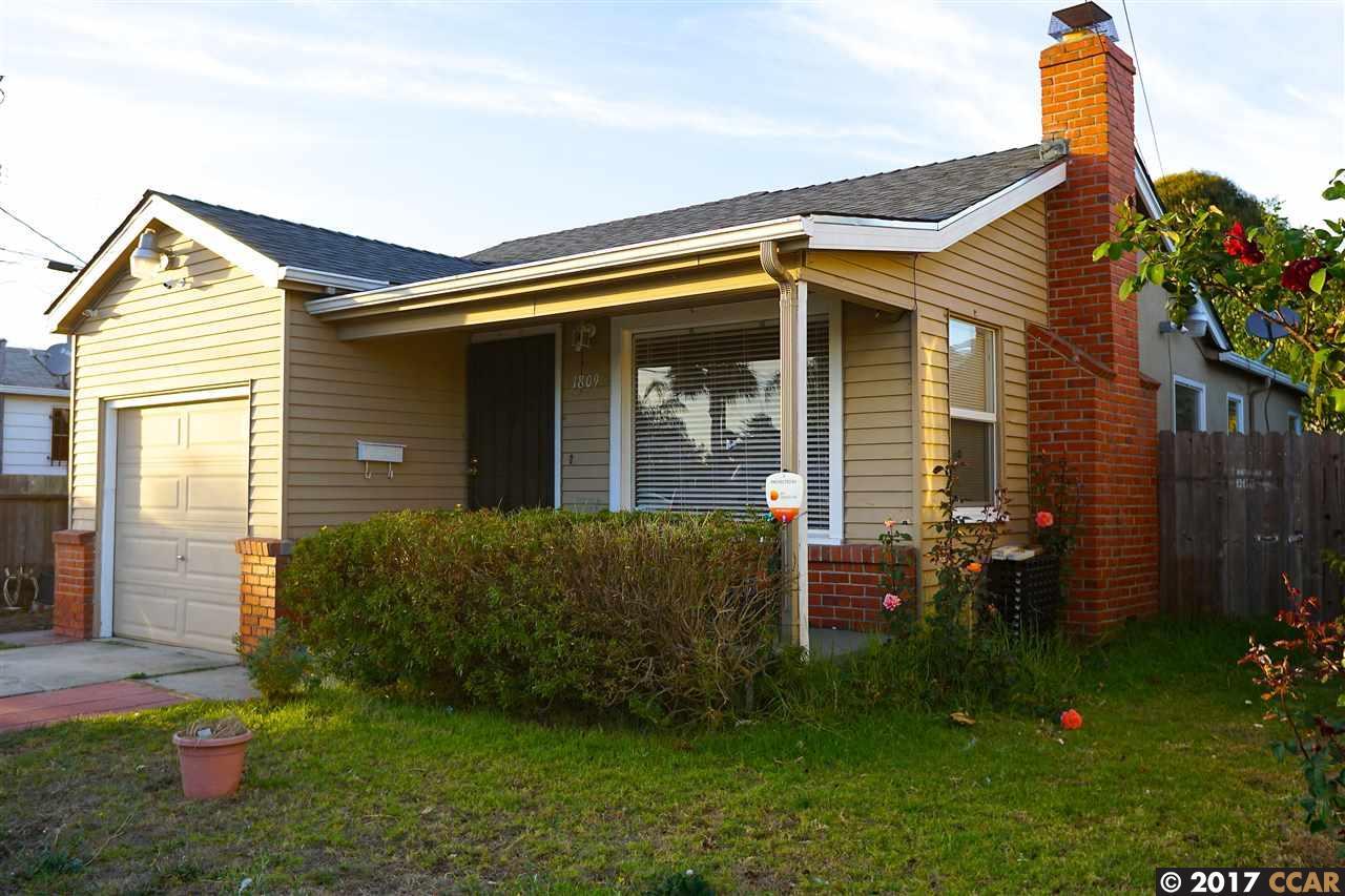 واحد منزل الأسرة للـ Sale في 1809 Wilcox Avenue 1809 Wilcox Avenue San Pablo, California 94806 United States