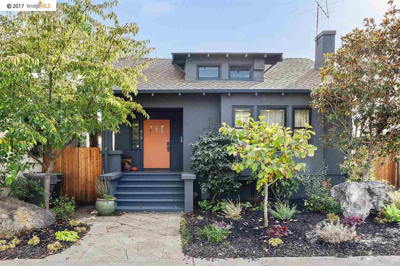 واحد منزل الأسرة للـ Sale في 415 45Th Street 415 45Th Street Oakland, California 94609 United States