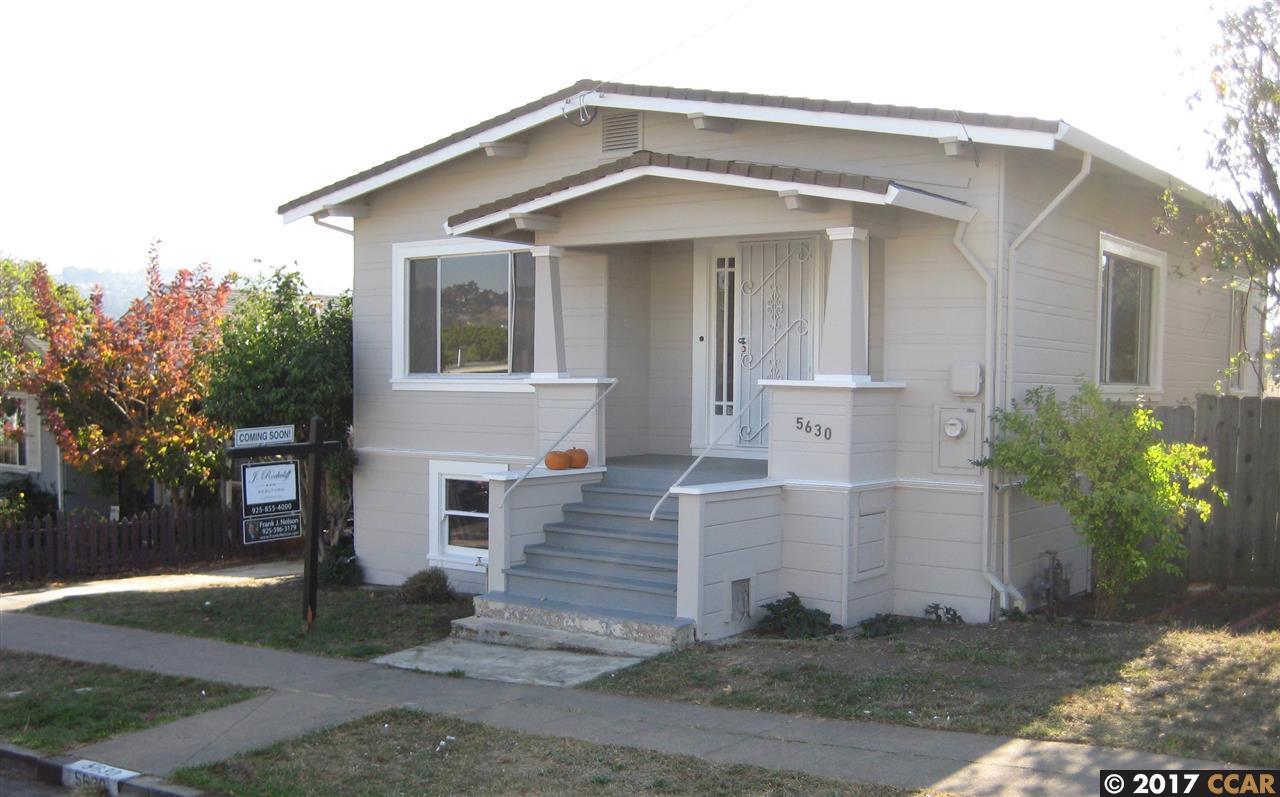 Casa Unifamiliar por un Venta en 5630 Sacramento Avenue 5630 Sacramento Avenue Richmond, California 94804 Estados Unidos