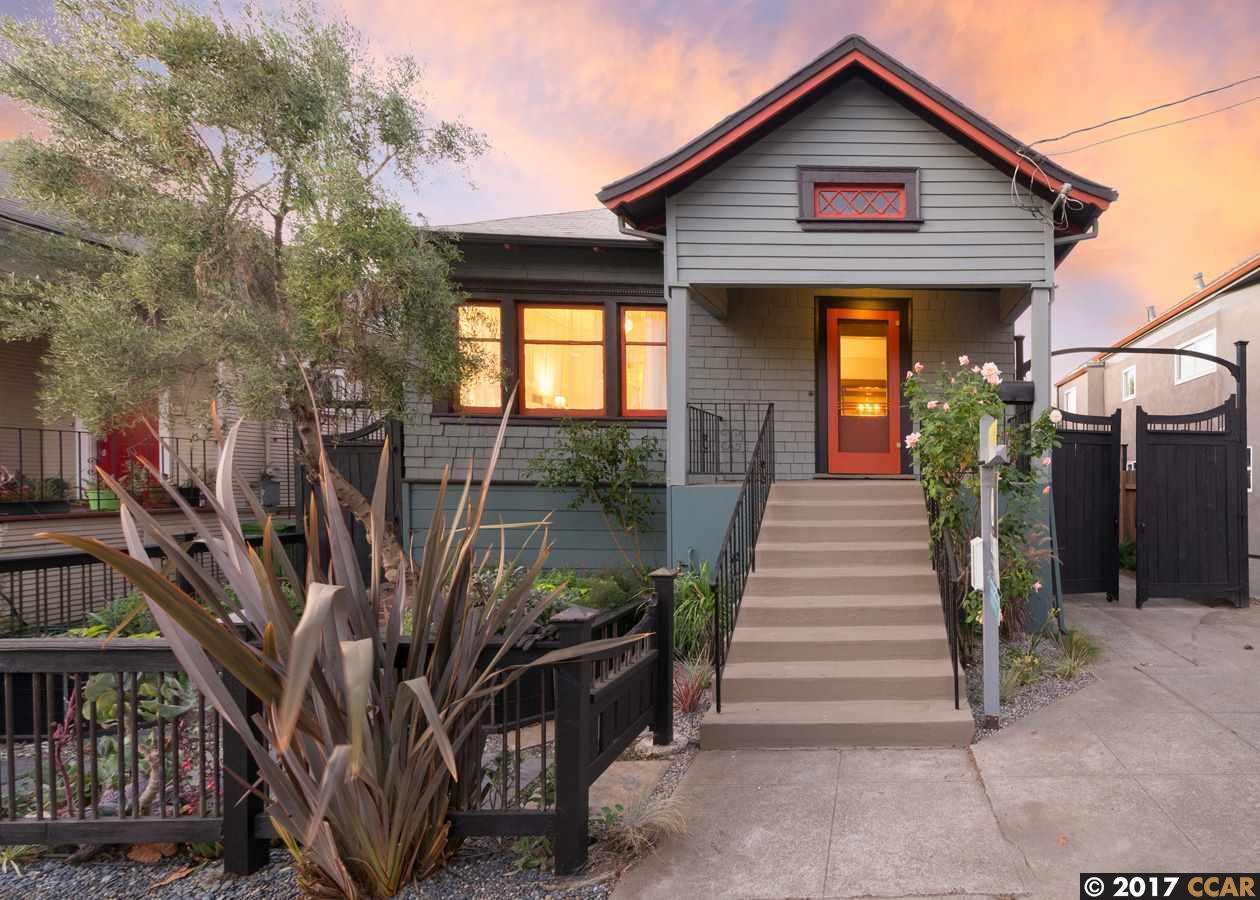 واحد منزل الأسرة للـ Sale في 526 52nd Street 526 52nd Street Oakland, California 94609 United States