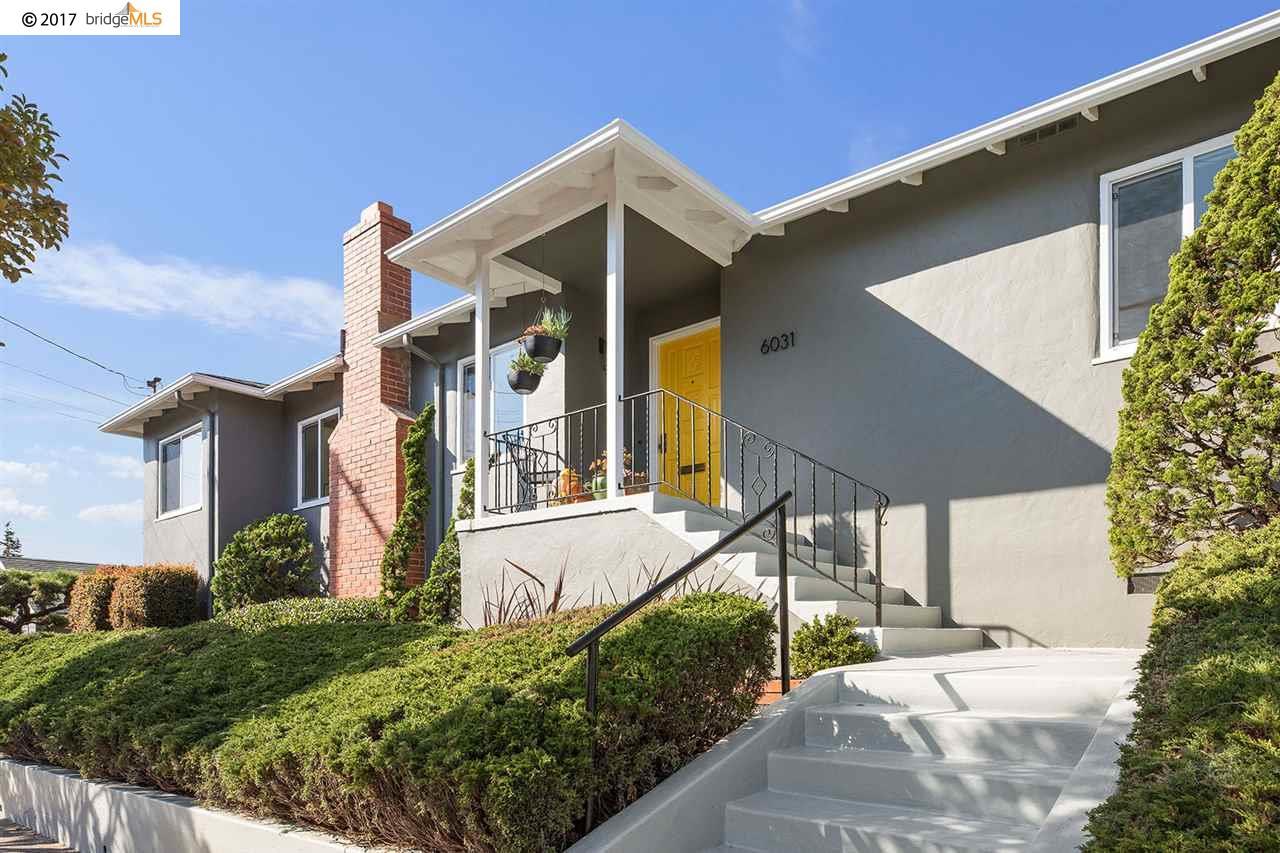 Casa Unifamiliar por un Venta en 6031 Plumas Avenue 6031 Plumas Avenue Richmond, California 94804 Estados Unidos