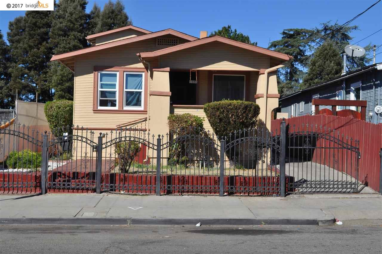 Single Family Home for Sale at 2209 62Nd Avenue 2209 62Nd Avenue Oakland, California 94605 United States