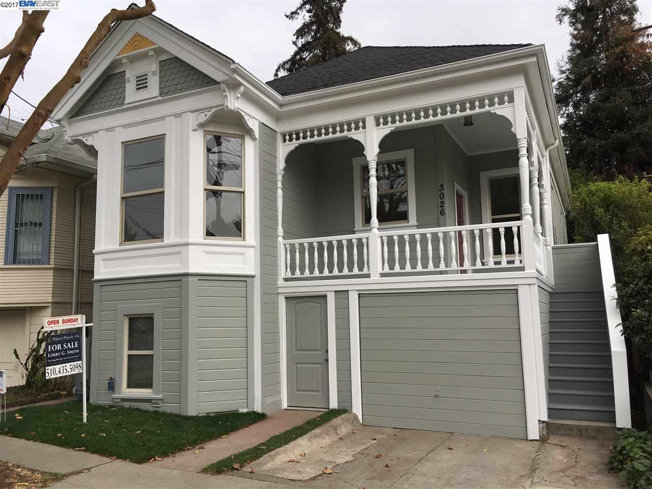 獨棟家庭住宅 為 出售 在 3026 Harrison Street 3026 Harrison Street Oakland, 加利福尼亞州 94611 美國