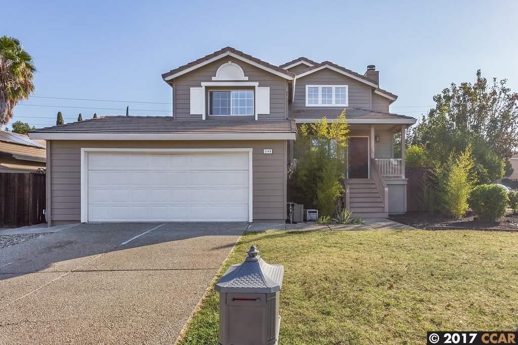 Частный односемейный дом для того Продажа на 5149 Pawnee Drive 5149 Pawnee Drive Antioch, Калифорния 94531 Соединенные Штаты