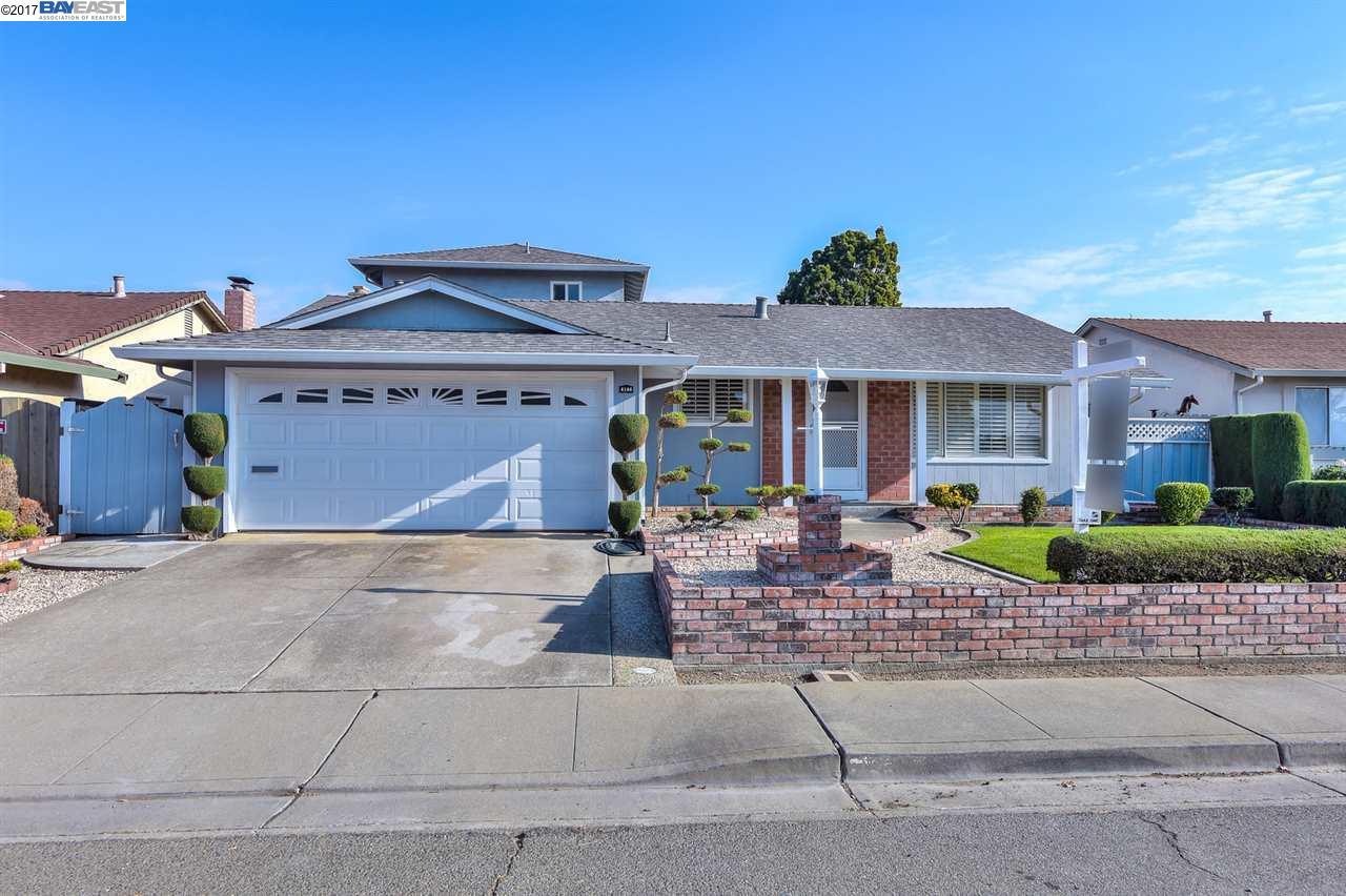 Maison unifamiliale pour l Vente à 4144 Ardo Street 4144 Ardo Street Fremont, Californie 94536 États-Unis