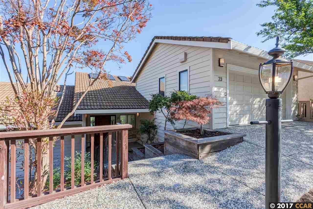 واحد منزل الأسرة للـ Sale في 23 Indian Wells Street 23 Indian Wells Street Moraga, California 94556 United States