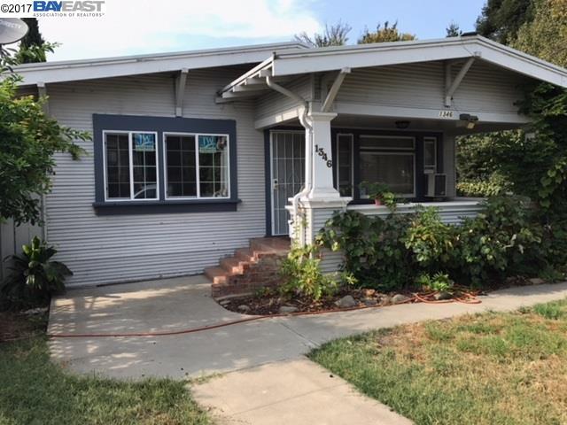 獨棟家庭住宅 為 出售 在 1346 C Street 1346 C Street Hayward, 加利福尼亞州 94541 美國