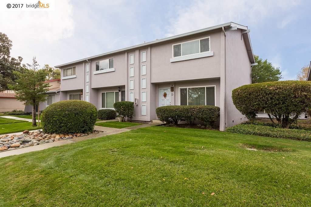 Maison accolée pour l Vente à 1893 Landana Drive 1893 Landana Drive Concord, Californie 94519 États-Unis