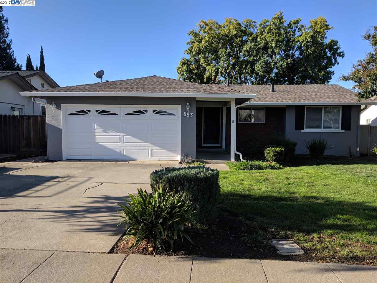 Single Family Home for Rent at 683 Lido 683 Lido Livermore, California 94550 United States
