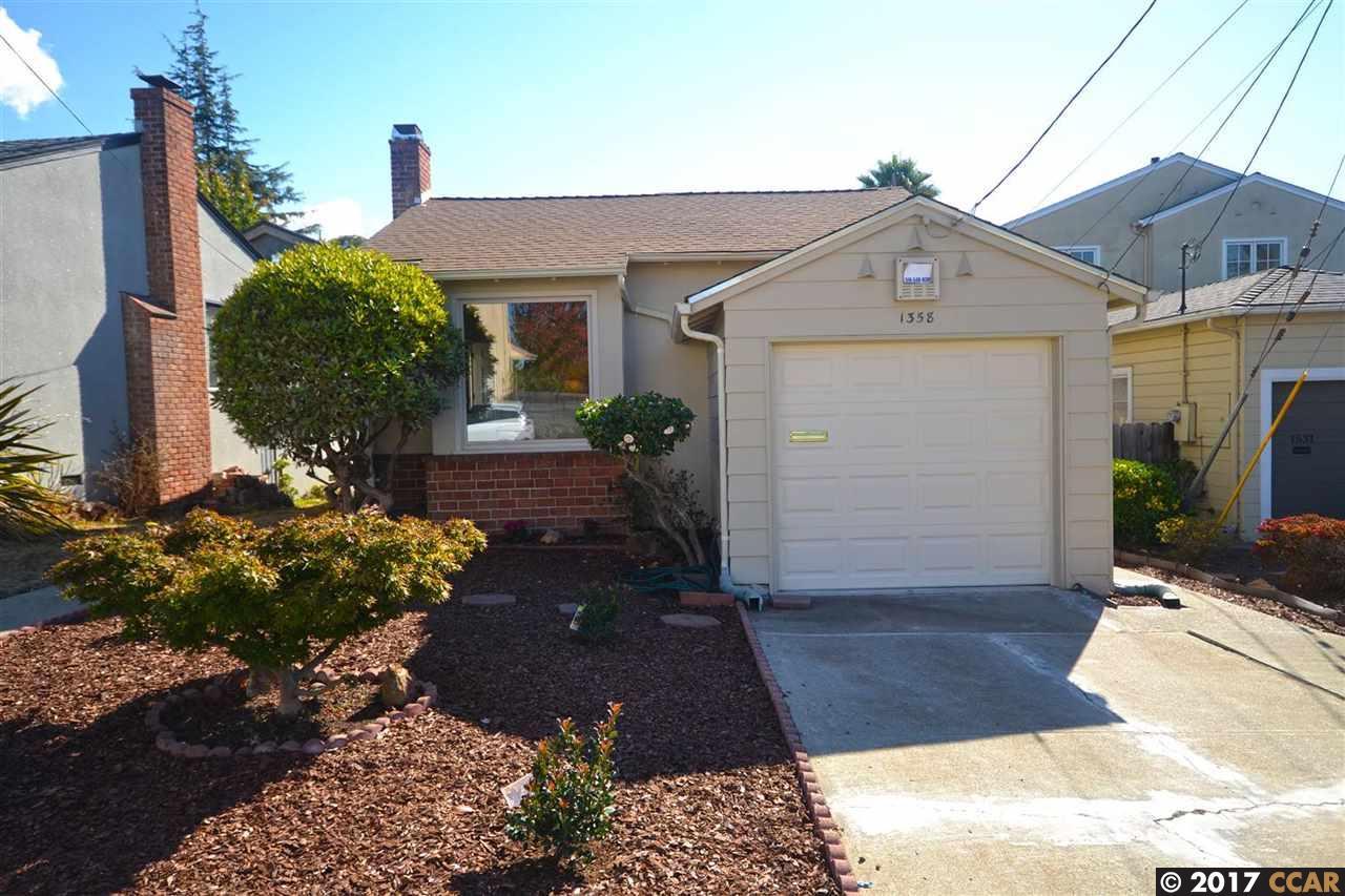 Einfamilienhaus für Verkauf beim 1358 Tomlee Drive 1358 Tomlee Drive Berkeley, Kalifornien 94702 Vereinigte Staaten