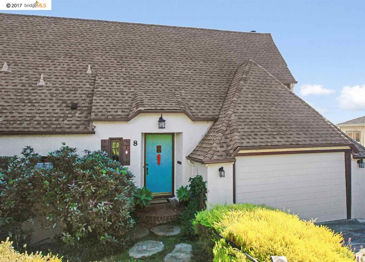 Single Family Home for Sale at 8 Marchant Court 8 Marchant Court Kensington, California 94707 United States