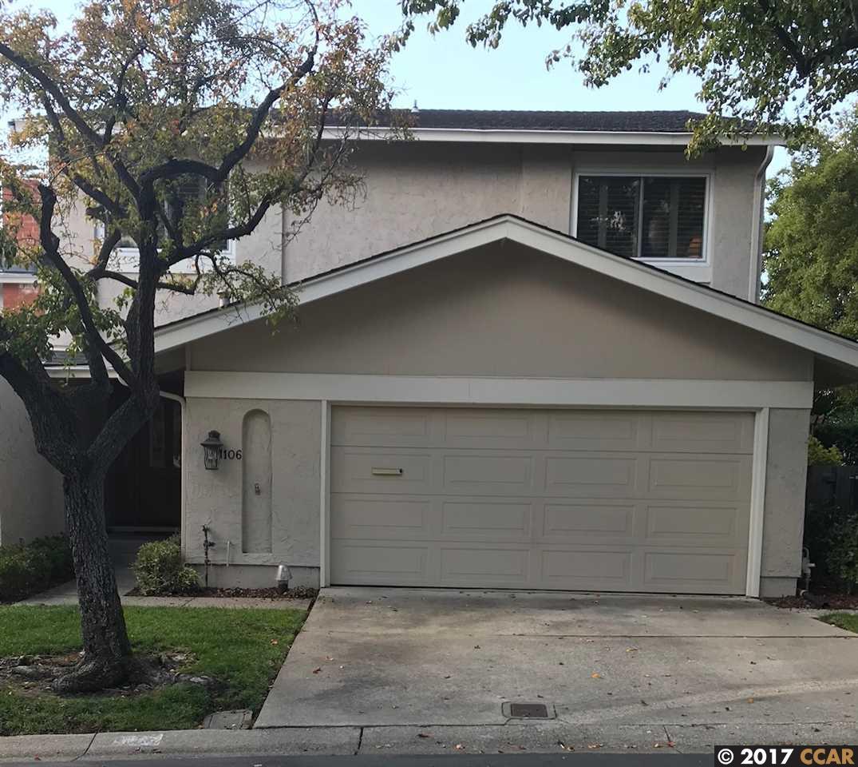 タウンハウス のために 売買 アット 1106 Chiltern drive 1106 Chiltern drive Walnut Creek, カリフォルニア 94596 アメリカ合衆国