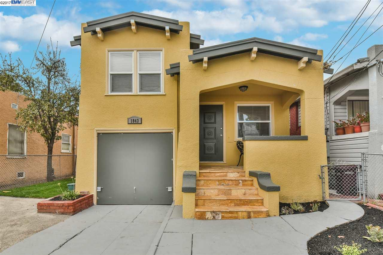 Single Family Home for Sale at 1843 66Th Avenue 1843 66Th Avenue Oakland, California 94621 United States