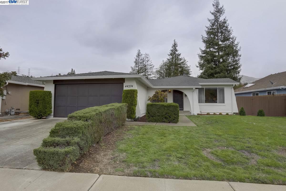 一戸建て のために 売買 アット 44274 Sparrow Drive 44274 Sparrow Drive Fremont, カリフォルニア 94539 アメリカ合衆国