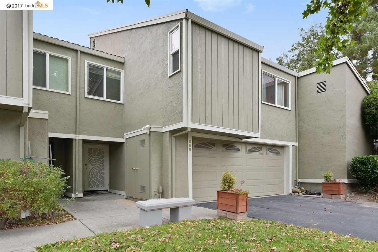 Таунхаус для того Продажа на 855 Tampico 855 Tampico Walnut Creek, Калифорния 94598 Соединенные Штаты