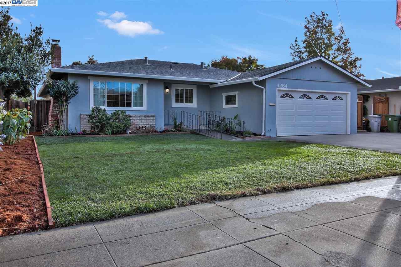 一戸建て のために 売買 アット 4264 Stanley Avenue 4264 Stanley Avenue Fremont, カリフォルニア 94538 アメリカ合衆国