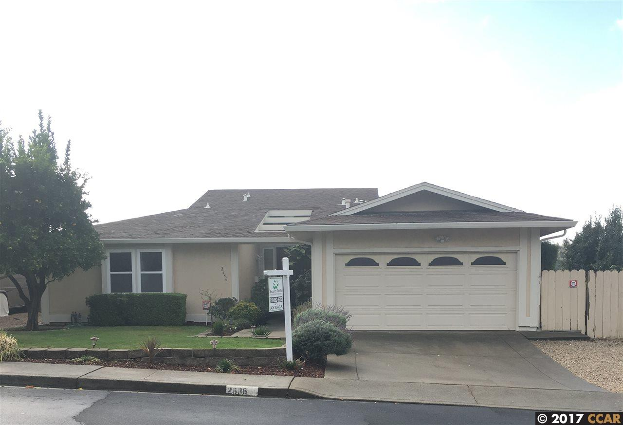 Single Family Home for Sale at 2686 Alhambra Way 2686 Alhambra Way Pinole, California 94564 United States