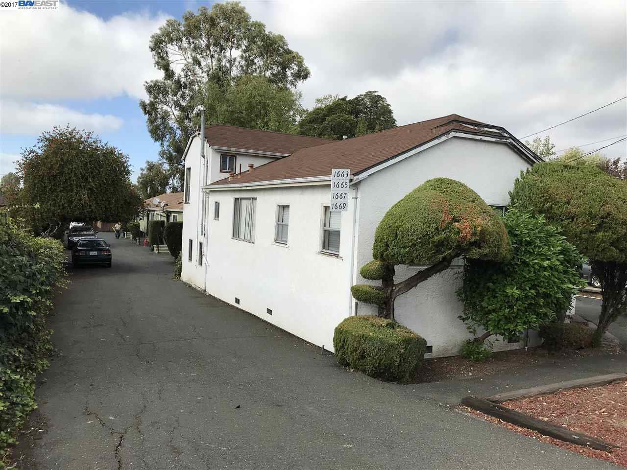 Multi-Family Home for Sale at 1661 Mono Avenue 1661 Mono Avenue San Lorenzo, California 94578 United States