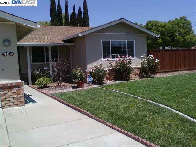 Single Family Home for Rent at 782 Del Mar Avenue 782 Del Mar Avenue Livermore, California 94550 United States